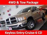 2004 Light Almond Pearl Dodge Ram 1500 ST Quad Cab 4x4 #46545638