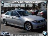 2008 Titanium Silver Metallic BMW 3 Series 335i Sedan #46545808