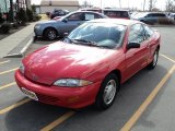 1999 Chevrolet Cavalier RS Coupe Front 3/4 View