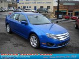 2011 Blue Flame Metallic Ford Fusion SE #46545649