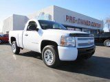 2009 Summit White Chevrolet Silverado 1500 Regular Cab #46546107