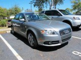2008 Quartz Grey Metallic Audi A4 2.0T S-Line Sedan #46545426
