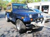 1989 Jeep Wrangler Spinnaker Blue
