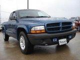 2003 Atlantic Blue Pearlcoat Dodge Dakota SXT Club Cab #46546135