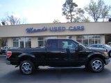 2010 Tuxedo Black Ford F150 XLT SuperCab #46545893