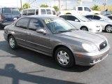 Slate Gray Hyundai Sonata in 2004