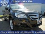 2011 Deep Black Metallic Volkswagen Tiguan SE #46546433