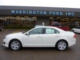 2011 White Suede Ford Fusion SE #46545919