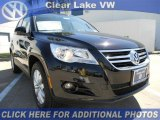 2011 Deep Black Metallic Volkswagen Tiguan SE #46546437