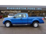 2011 Blue Flame Metallic Ford F150 STX SuperCab 4x4 #46545928