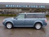 2010 Steel Blue Metallic Ford Flex SEL AWD #46545934