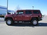 2010 Red Rock Metallic Hummer H3  #46612176