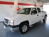 2003 Summit White Chevrolet Silverado 1500 LS Extended Cab 4x4 #46611930