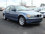 2005 Steel Blue Metallic BMW 3 Series 325i Sedan #46611941