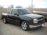 2004 Dark Gray Metallic Chevrolet Silverado 1500 LS Regular Cab #46612198