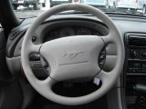 2000 Ford Mustang V6 Coupe Steering Wheel