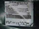 2000 Mustang Color Code for Amazon Green Metallic - Color Code: SU