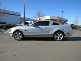 2006 Satin Silver Metallic Ford Mustang V6 Deluxe Coupe #46612160