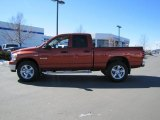 2008 Sunburst Orange Pearl Dodge Ram 1500 Big Horn Edition Quad Cab 4x4 #46612167