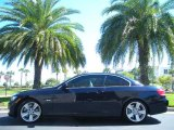 2008 Monaco Blue Metallic BMW 3 Series 335i Convertible #46611980