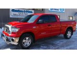 2007 Radiant Red Toyota Tundra SR5 TRD Double Cab 4x4 #46631675