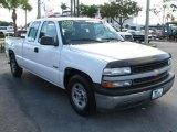 2000 Summit White Chevrolet Silverado 1500 Extended Cab #46632114