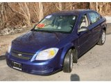 2007 Laser Blue Metallic Chevrolet Cobalt LS Sedan #46630920