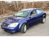 2007 Laser Blue Metallic Chevrolet Cobalt LS Sedan #46630921