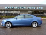 2010 Sport Blue Metallic Ford Fusion SEL V6 #46631757