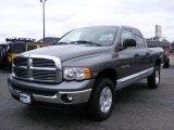 2005 Mineral Gray Metallic Dodge Ram 1500 Laramie Quad Cab 4x4 #46631876