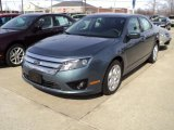 2011 Steel Blue Metallic Ford Fusion SE #46631926