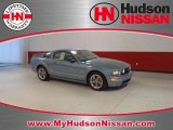 2005 Windveil Blue Metallic Ford Mustang GT Deluxe Coupe #46653299