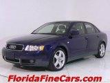 2004 Moro Blue Pearl Effect Audi A4 1.8T quattro Sedan #441163