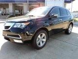2011 Crystal Black Pearl Acura MDX  #46654200
