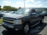 2011 Taupe Gray Metallic Chevrolet Silverado 1500 LT Extended Cab 4x4 #46653876