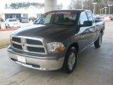 2010 Mineral Gray Metallic Dodge Ram 1500 SLT Quad Cab 4x4 #46654213