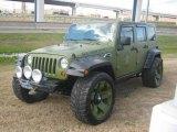2007 Jeep Wrangler Unlimited Jeep Green Metallic