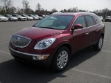 2011 Red Jewel Tintcoat Buick Enclave CXL AWD #46654374