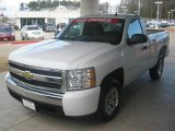 2008 Summit White Chevrolet Silverado 1500 LS Regular Cab #46654216