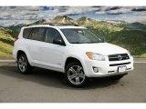 2011 Super White Toyota RAV4 V6 Sport 4WD #46653742