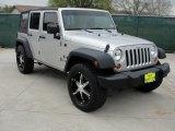 2007 Jeep Wrangler Unlimited Bright Silver Metallic