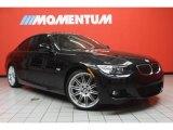2010 Jet Black BMW 3 Series 335i Coupe #46654229