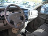 2002 Dodge Ram 1500 SLT Quad Cab 4x4 Taupe Interior