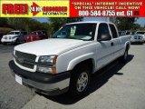 2003 Summit White Chevrolet Silverado 1500 LS Extended Cab 4x4 #46654400
