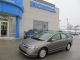 2006 Galaxy Gray Metallic Honda Civic Hybrid Sedan #46653783