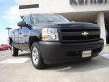 2008 Dark Blue Metallic Chevrolet Silverado 1500 Work Truck Regular Cab #46654267
