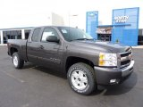 2011 Taupe Gray Metallic Chevrolet Silverado 1500 LT Extended Cab 4x4 #46653962