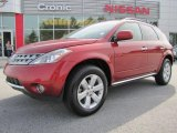 2007 Sunset Red Pearl Metallic Nissan Murano SL #46654119