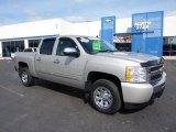 2009 Silver Birch Metallic Chevrolet Silverado 1500 LS Crew Cab #46653972
