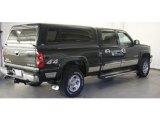 2003 Dark Green Metallic Chevrolet Silverado 1500 LS Crew Cab 4x4 #46654287